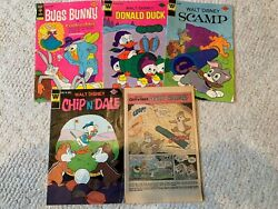 Bugs Bunny , Donald Duck, Scamp And Chip 'n' Dale Comic Books
