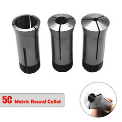 5c Collet Round Metric Sizes 3mm-27mm Milling Lathes Collet Chucks New
