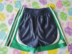 NWOT Adidas Brand Little Baby Boys Shorts Size 24M 24 Months Free Ship $8.00