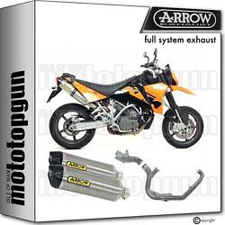 Arrow Homcat Full System Exhaust Race-tech Titanium C Ktm 990 Sm 08/13