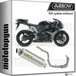 Arrow Hom Nocat Full System Exhaust Indy-race Titanium Honda Cbr 600 Rr 07/08