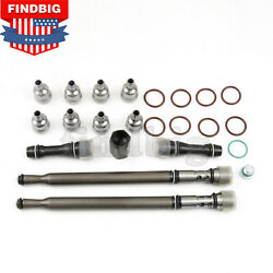 Oil Rail Repair Kit Andupdated Stand Pipe Dummy Plugs High Pressure For Ford 6.0l