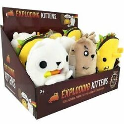 Exploding Kittens 7 Plush Toy Brand New Display Of 9