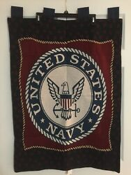 USN military veteran Navy seal anchor hanging Tapestry In Excellent Condition