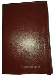 Niv Thinline Holy Bible Burgundy Bonded Leather Red Letter Edition Very Nice