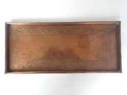 Keswick Home Industries Khi Arts And Crafts W H Mawson Large Copper Tray C435