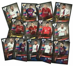 Match Attax 101 Limited Editions Champions League 2019/20 - Choose From All -