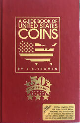 1997 Edition Us Coins Red Guide Book - 50th Anniversary By R. S. Yeoman