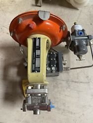 Fisher Bauman 32.24577s .5-inch Ss Body W/3660 Positioner And 67cfr Air Regulator
