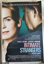 Intimate Strangers Original 2004 Ds 27x40 Movie Poster Home Theater