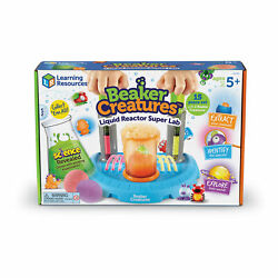 New - Learning Resources Beaker Creatures - Liquid Reactor Super Lab - Ages 5+