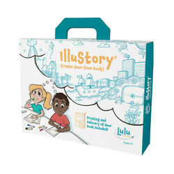 New - Lulu Jr. Illustory - Create Your Own Book - Ages 4+ | 1 Player