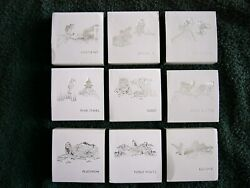 2012 Fuji Treasures Of Mother Nature Set Of 9 Silver Coins See Details/photo's