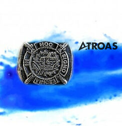 Sterling Silver Knights Of Templar Masonic York Rite Ring In Hoc Signo Vinces