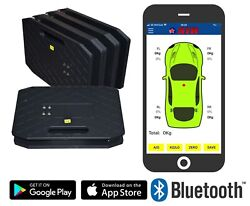 Corner Weight Racing Car Scales Str And039wireless Appand039 Bluetooth Car Setup Race Road