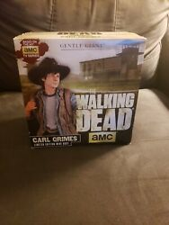 The Walking Dead Carl Grimes Mini Bust By Gentle Giant With Box 475 Of 1040