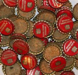 Soda Pop Bottle Caps Lot Of 12 Canada Dry Black Cherry Cork Lined New Old Stock