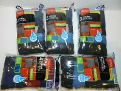 Hanes Mens Boxers 5 Pack Tagless Cool Comfort NEW SEALED Pick Size S M L XL 2XL