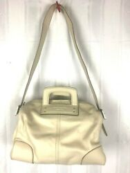 Nwt Kate Spade Wonder Duffle Porcelain Mirabill Smooth Bag Purse Patent Leather