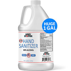Hand Sanitizer Antimicrobial 80% Alcohol MEETS CDC WHO GUIDELINES 1 GALLON