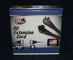 Southwire 09590 - 50 Amp Rv Extension Cord 30 Ft - New In Box