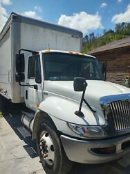 2013 International Box Truck Complete White Hood With Chrome Grill