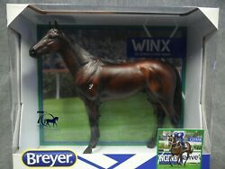 Breyer New Winx 1828 Standing Thoroughbred Emerson Traditional Model Horse