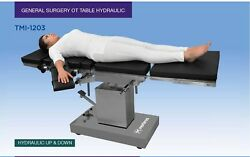 General Surgery Ot Table Hydraulic Up And Down Center Pillar