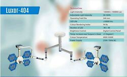 Led Surgical Light Ceiling Mobile Wall Mounted No Of Led 48 + 48