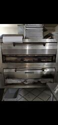 Pizza Oven Double Deck Natural Gas.condition Is Used Pick Up Only.