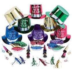 Get The Party Started New Year#x27;S Eve Party For 25 Party Supplies 50 Pieces $36.16