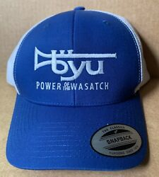 Brigham Young University Cougar Marching Band Baseball Cap Hat, Adult Size New