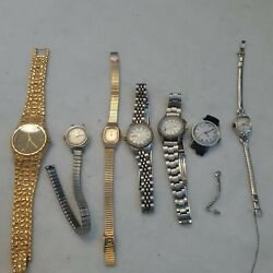 Tv Show Prop Vintage Watches Bundle Lot Of 7 Work And Parts A1 🎥 Items
