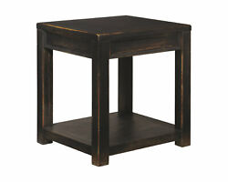 New Square End Table Nightstand Bedside Storage Bedroom Furniture Sofa