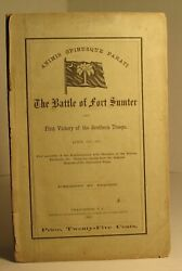 N A. / Battle Of Fort Sumter And First Victory Of The Southern Troops April 1st
