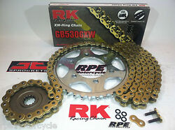 Suzuki Gsx1300r Hayabusa And03908/18 Rk Gxw530 Extended Length 160l Chain And Sprocket