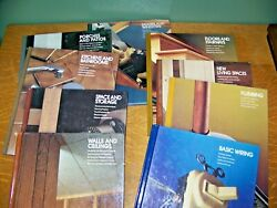 Time Life Books -9 Home Repair And Improvement Books