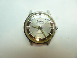 BULOVA VINTAGE 1965 30 JEWEL AUTOMATIC WATCH FOR RESTORATION OR PARTS