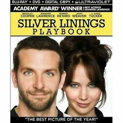 Blu ray: Silver Linings Playbook 2013 Blu ray disc ONLY $8.50