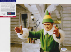 Bob Newhart Legend Elf Signed Autograph 8x10 Photo Psa/dna Coa 3