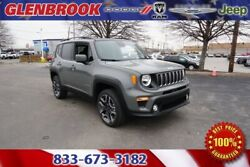 2020 Jeep Renegade Latitude 2020 Jeep Renegade Latitude 10 Miles Gray Clearcoat 4D Sport Utility 2.4L I4 9-S