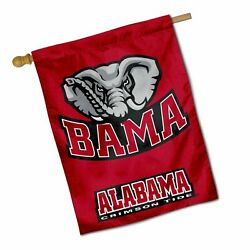 College Flags And Banners Co. University Of Alabama Crimson Tide House Flag