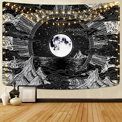 Hippie Tapestry Abstract Cloud Pattern Mandala Wall Hanging Psychedlic Tapestry