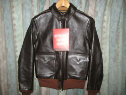 Used the Real Mccoyand039s A-2 Seal Flight Jacket Leather
