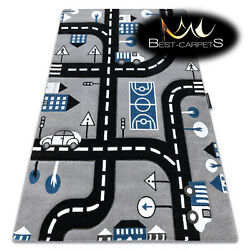 Childrenand039s Carpet City And039petitand039 Streets Grey Best-carpets For Children Any Size