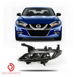 Fits Nissan Maxima 2016 2017 2018 Front Driving Fog Light Passenger Right Side