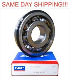Ball Bearing Skf 6307nr New Open With Snap Ring 307kg 307sg 43307 6307-nr