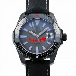 Free Shipping Pre-owned Tag Heuer Aqua Racer Phantom One Piece Special Way21bc