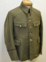 Imperial Japanese Army Type 3 Military Uniform For Officer Antique 1944 Japan