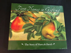 First Names in Gifting The Story of Harry and David